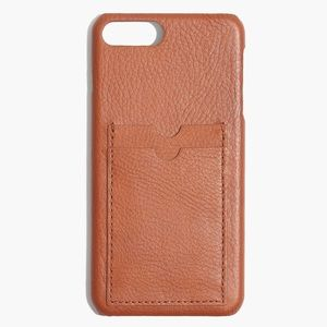 NWT Madewell Card Slot iPhone 6/7/8 Plus Case